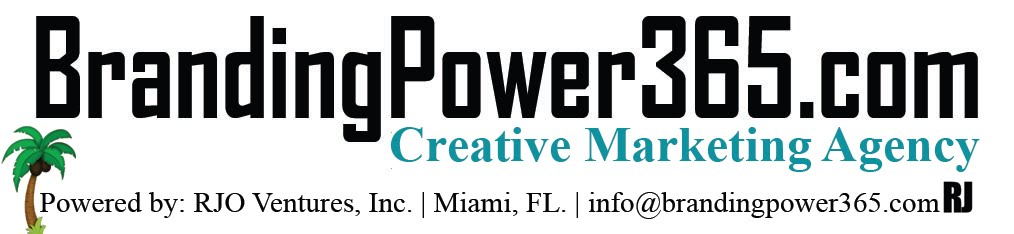 BrandingPower365.com/Creative Marketing/Printing/Graphic Design/Web Design/786-208-1529
