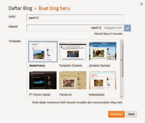 how to create free blog blogspot blogger.com