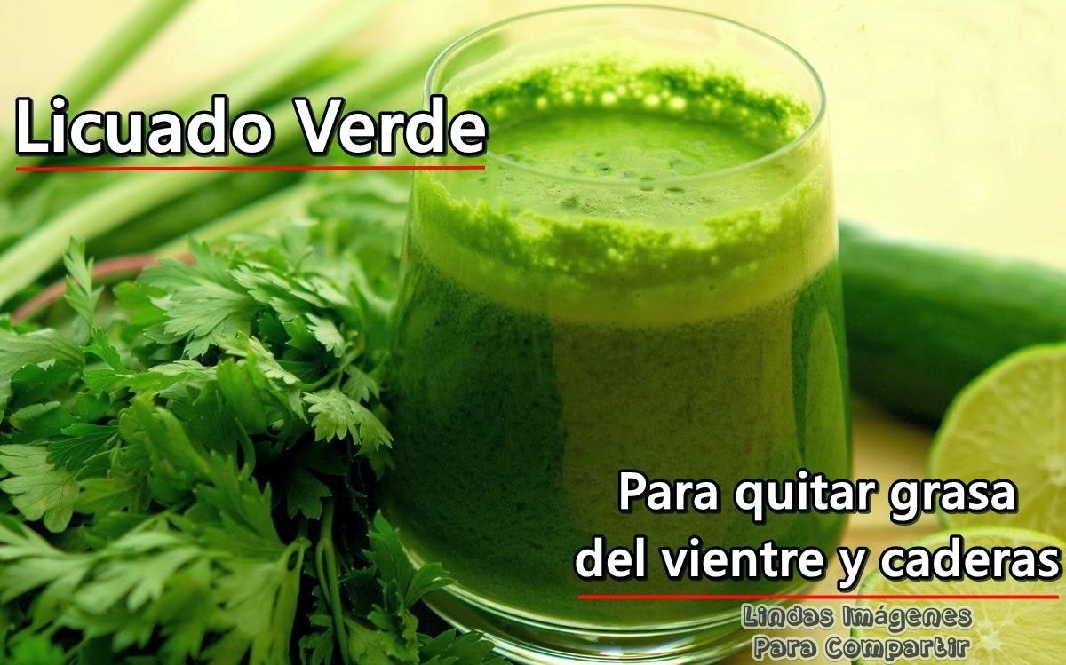 Licuado verde quema grasa buena receta for Hierbas para bajar de peso y quemar grasa