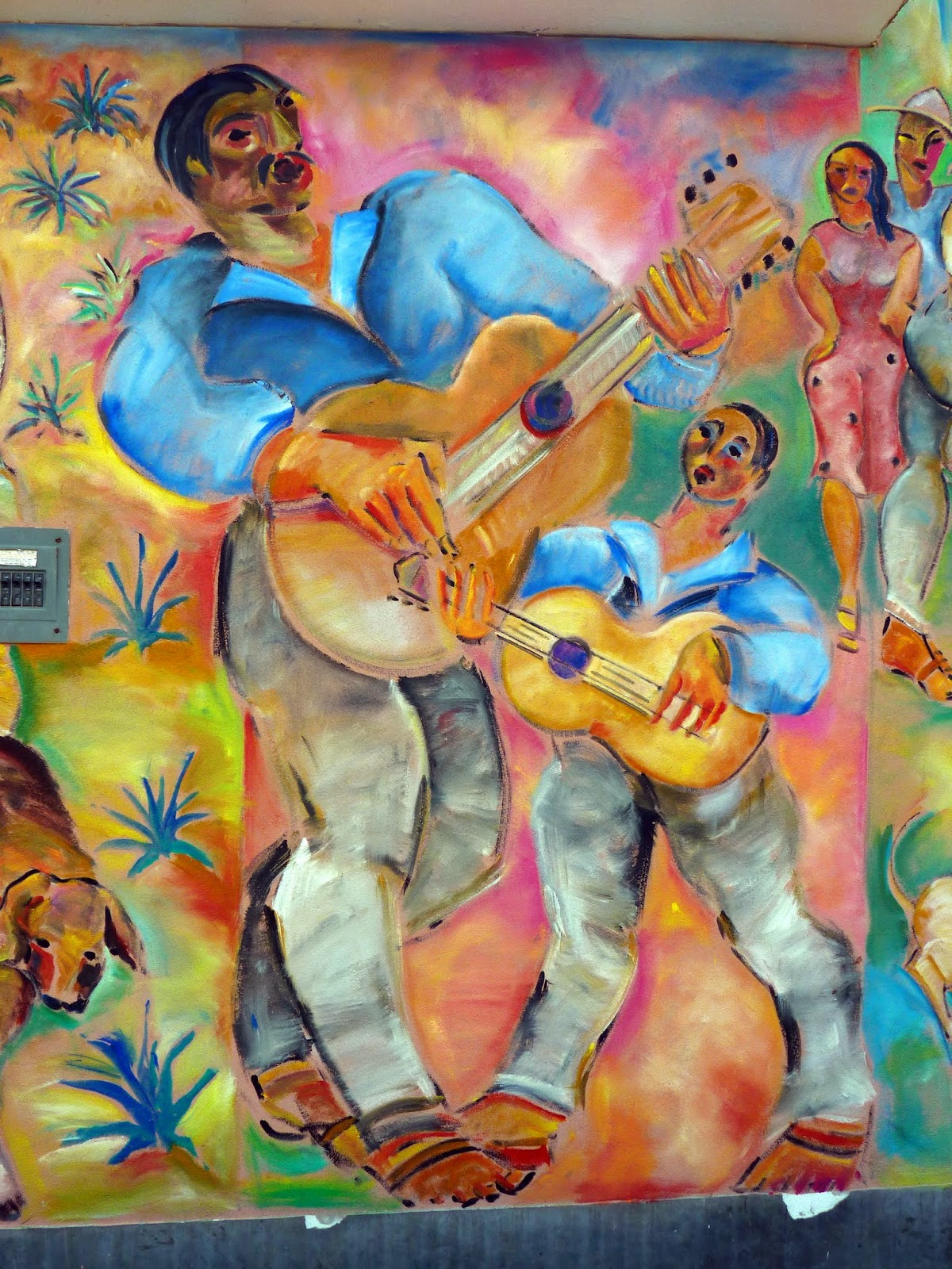 Mexpatriate in the key of steve sunday at the school for Common threads mural