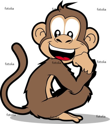 Funny Monkey Cartoon Picture