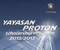 Yayasan Proton Scholarship