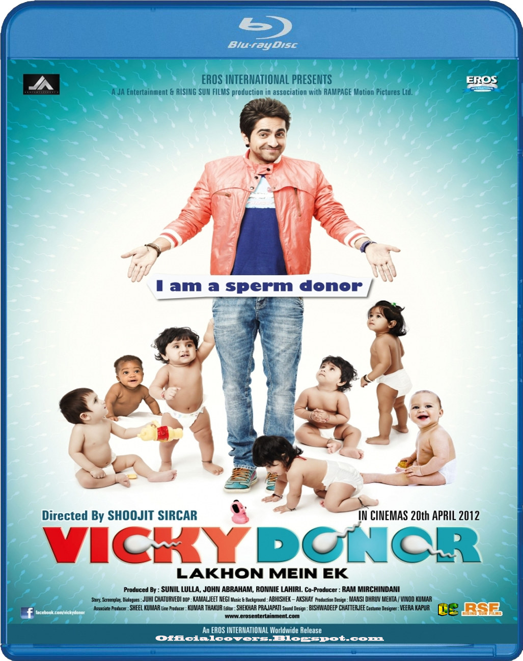 testing: Vicky Donor (2012) Bollywood Movie Bluray HD Cover