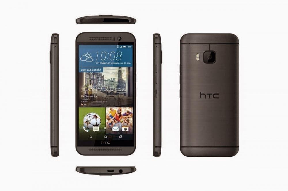 الكشف أخيرا عن صور و مواصفات HTC One M9