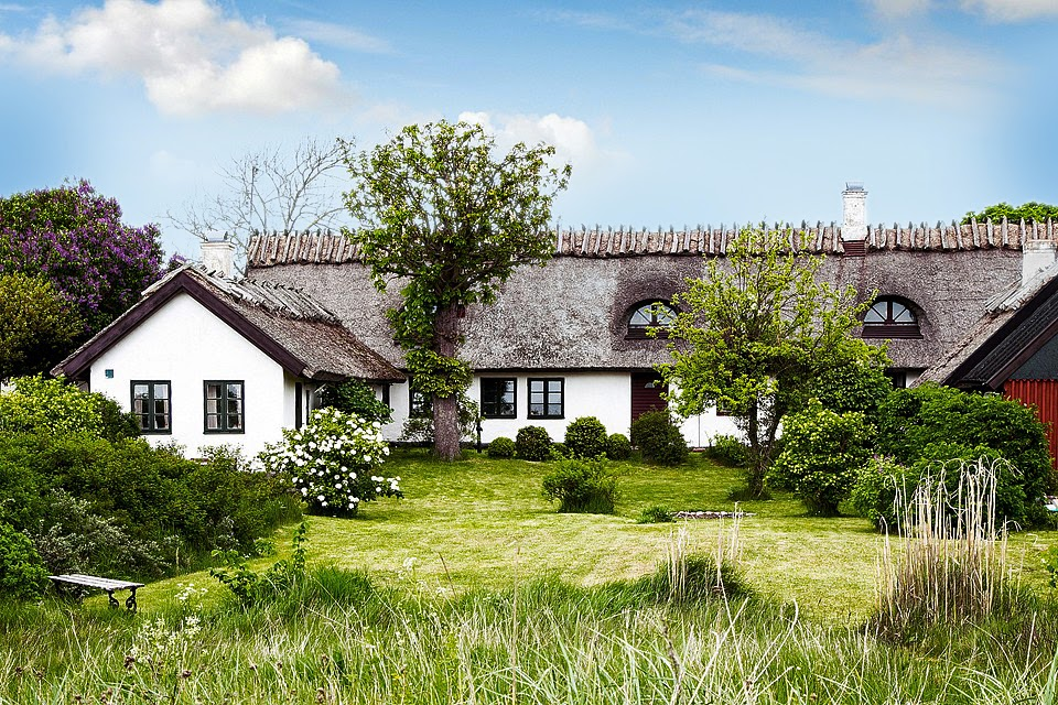 A charming fisherman's cottage on Sweden's South coast