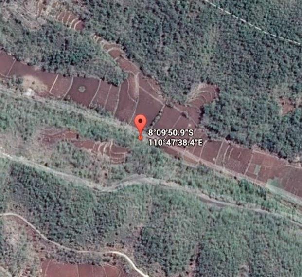 Koordinat Lokasi Bengawan Solo Purba_siparjo.com