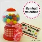 Printable Gumball Valentine