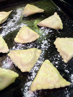 Pear and Pecorino Ravioli