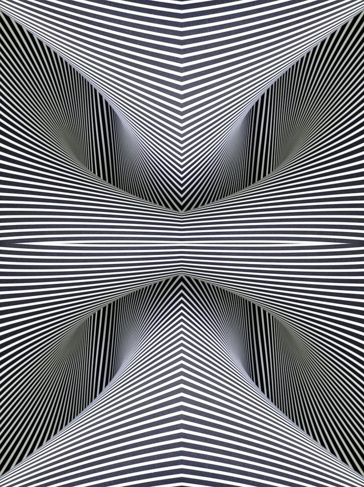 Line Drawing Illusion : Optische illusies en gezichtsbedrog