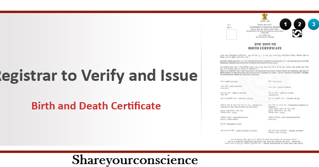 Make Birth and Death Certificate Online