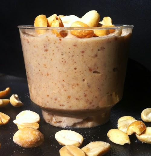 Receitas anabólicas - Mousse proteico sabor amendoim