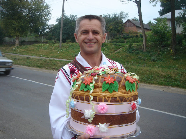 Ukrainian Wedding Bread Korovay