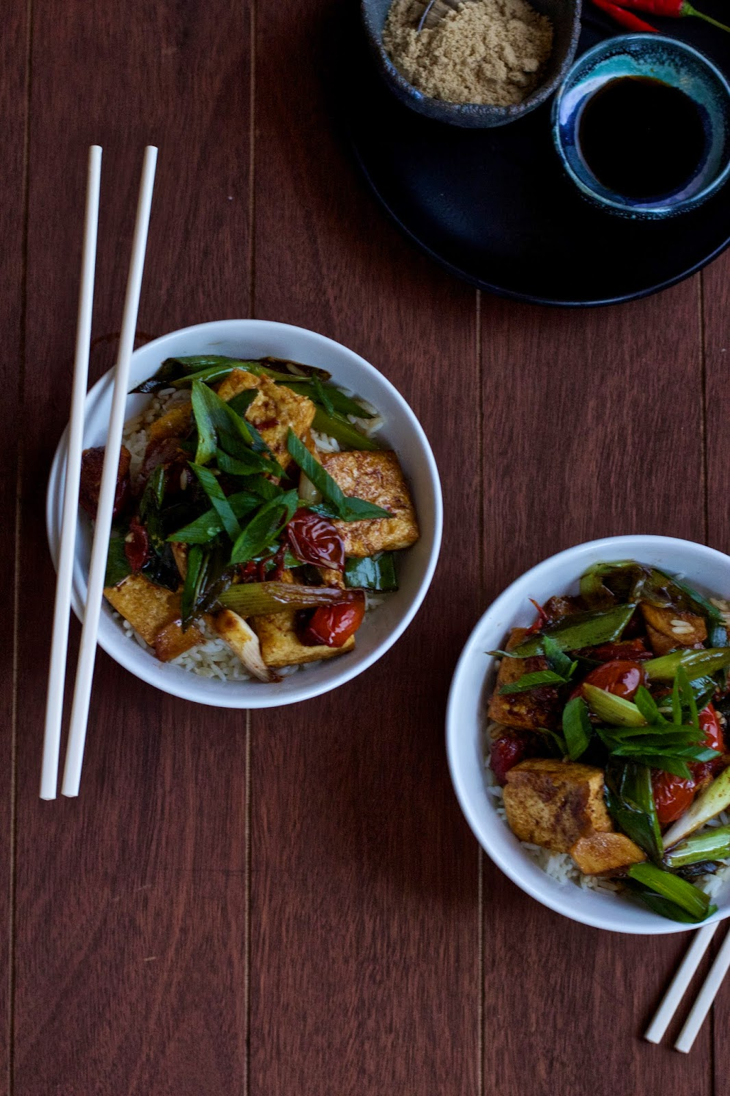 Kylie Kwong's Braised Tofu with Tomatoes