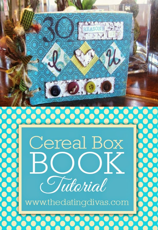 Cereal box book