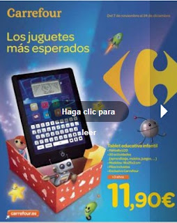 Carrefour juguetes de navidad 2012