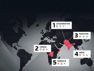 5 Negara Yang Paling Berbahaya Bagi Wanita
