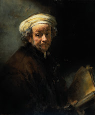 REMBRANDT Self-Portrait as the Apostle Paul 1661