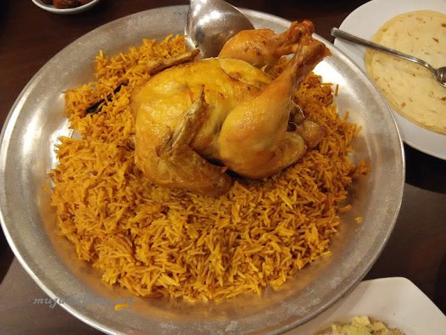 nasi arab, restoran jeddah, makanan arab terbaik kelantan