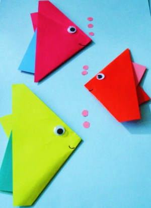 Learning Ideas Grades K 8 How To Make Origami Fish