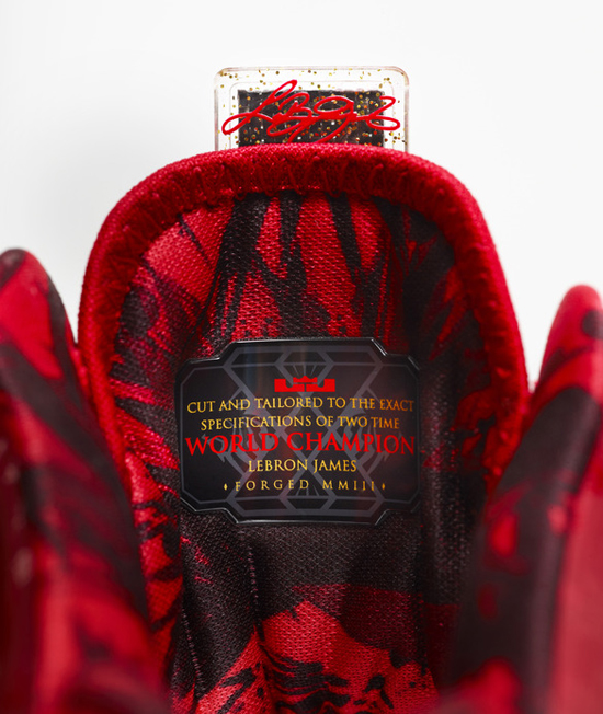Nike LeBron 11 Metallic Gold Red Black