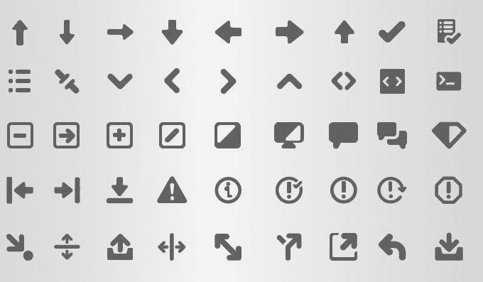 Web Interface Icon Set (SVG & AI)