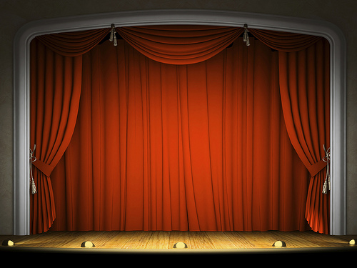 Talent Show Curtains