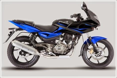 Bajaj Pulsar 220F Blue Colour