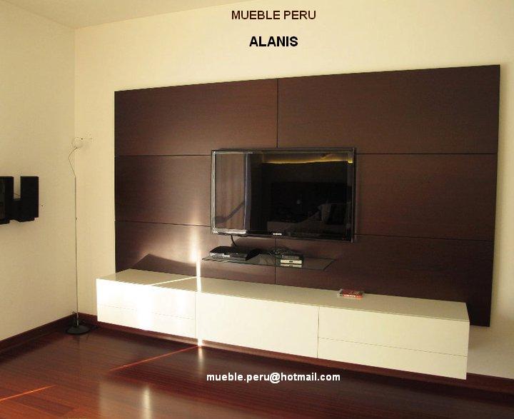 Centro de Entretenimiento Moderno VirtualMuebles