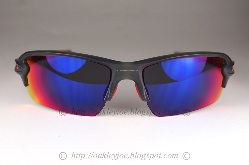 Oakley Flak Jacket Red Iridium