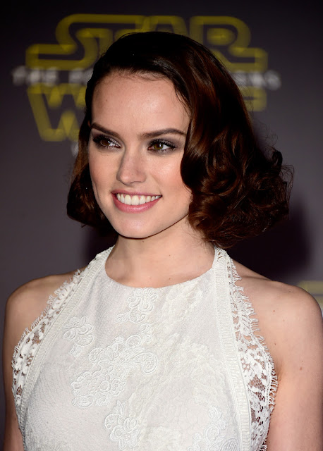"Actress, @ Daisy Ridley - premiere of ""Star Wars: The Force Awakens"" in Hollywood"