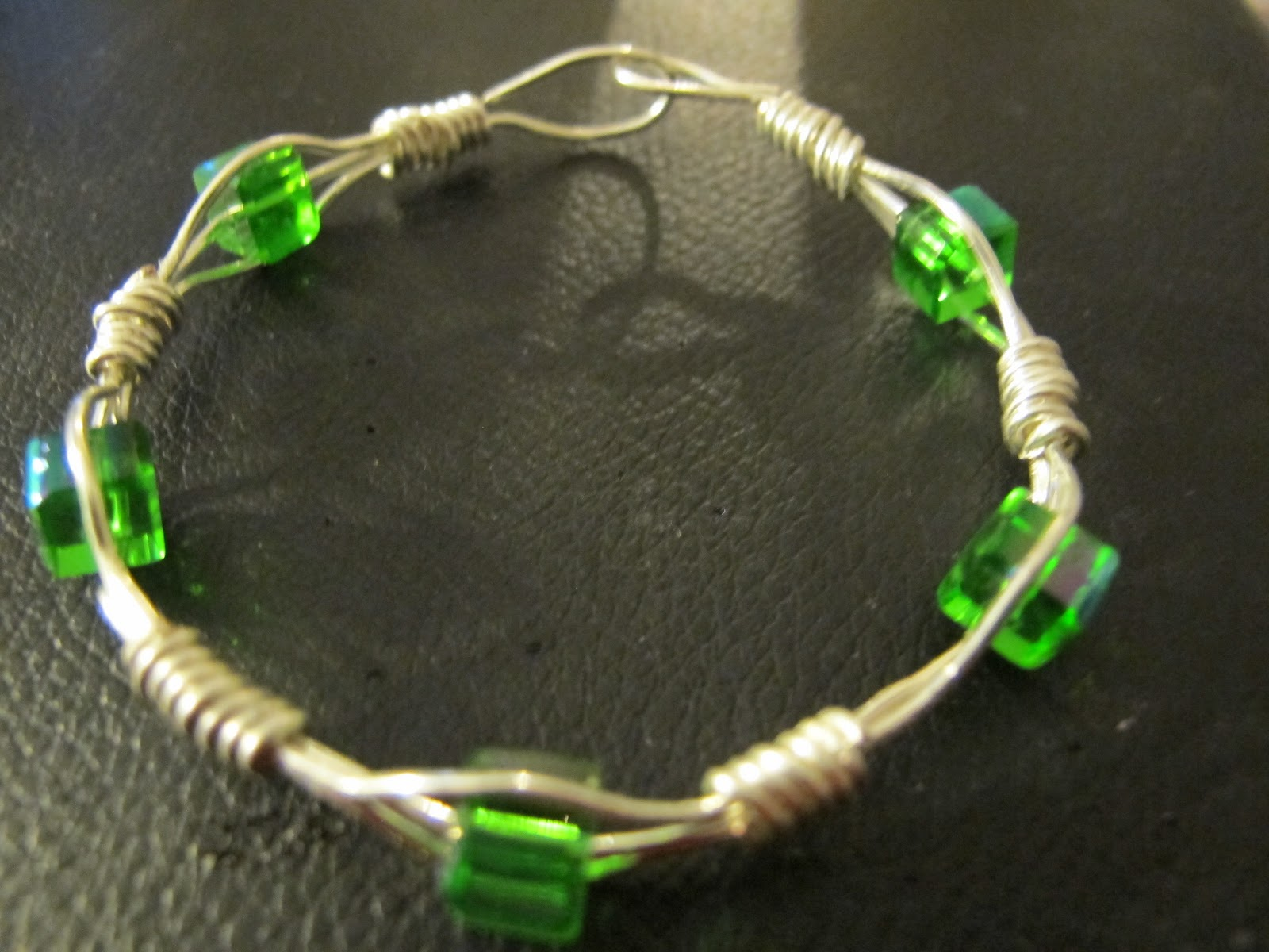 Bangle Stand Designs : Naomi s designs handmade wire jewelry april
