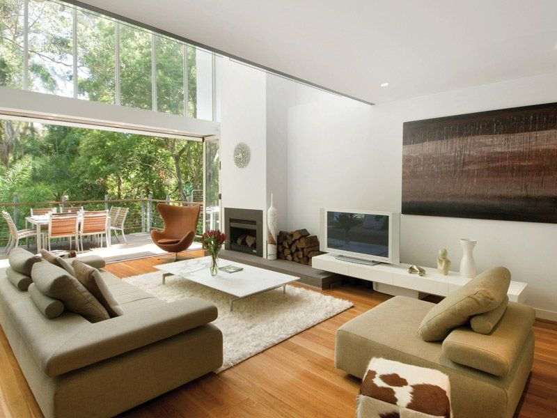 Vintage home salas modernas y tv como colocar el plasma for Living modernos pequenos