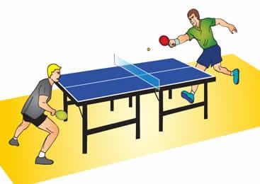 Educaci n f sica en la red el oso berni tenis de mesa for Mesa tenis de mesa