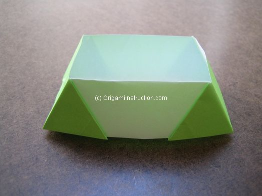 Origami Instruction Origami Trapezoid Box
