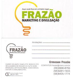 FRAZÃO MARKETING E DIVULGAÇÃO