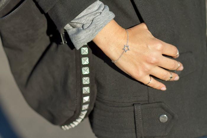Brazalete de plata de la colección Estrella de Chavin