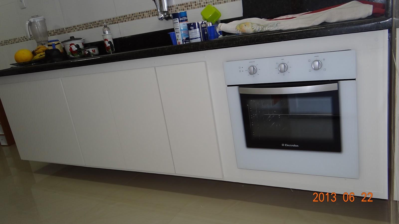 #4E630C Gabinete pia cozinha com forno elétrico embutido em MDF branco com 5  1600x900 px Gabinete Para Pia De Cozinha Lojas Americanas_3501 Imagens