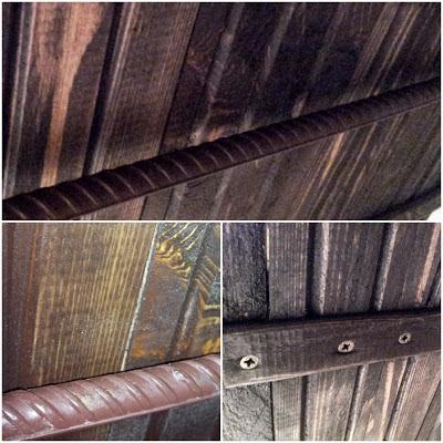mocowanie blatu w łazience,DIY drewniany blat krok po kroku blog
