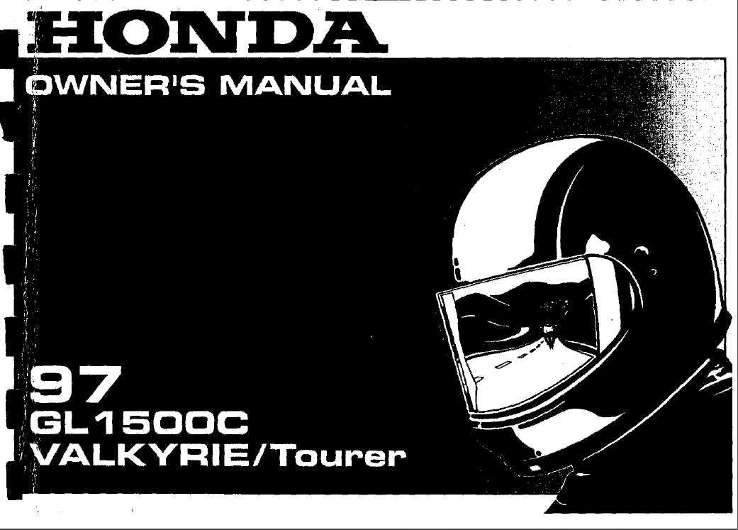 the honda valkyrie pages 2 1997 honda valkyrie 1500c ct owners manual rh thehondavalkyriepages2 blogspot com honda valkyrie manual pdf free honda valkyrie 1500 manual