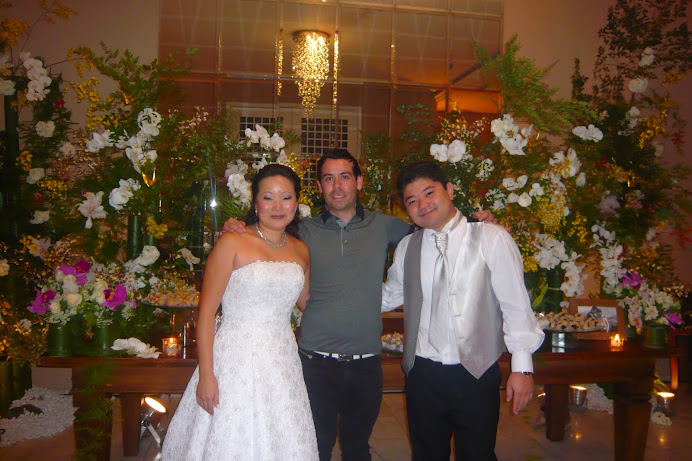 Casamento Oriental Noivos Fabio e Claudia .