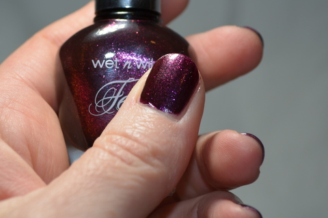 Wet n Wild, Ferguson Crest Syrah nail polish