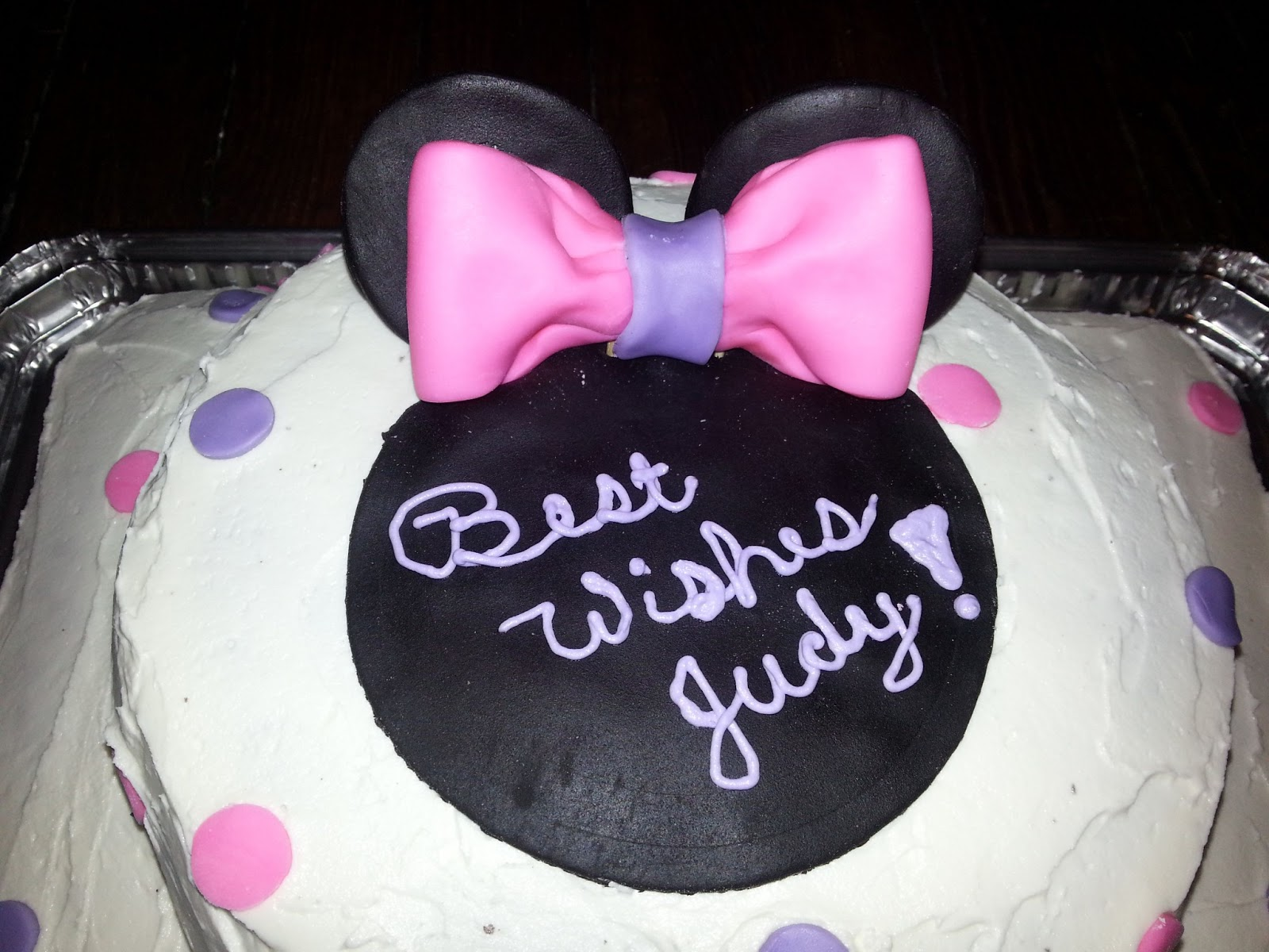 Reeses Cakes By Design Cakes Cupcakes and More Minnie Mouse