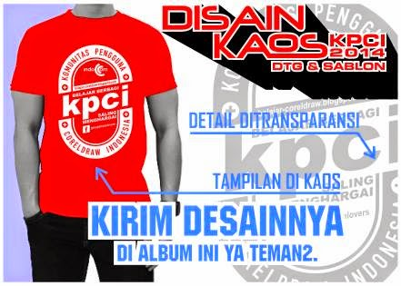 Contoh Desain Kaos KPCI
