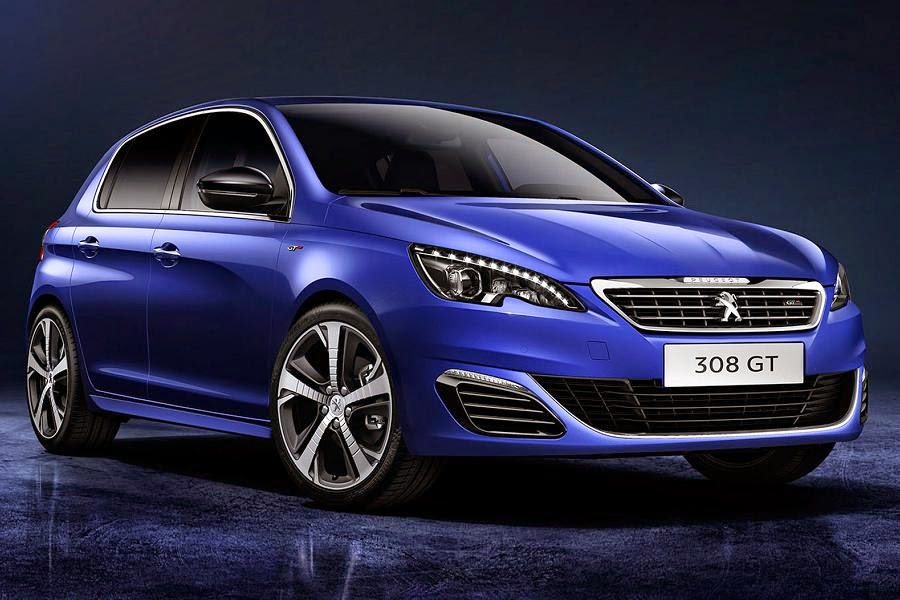 Peugeot 308 GT Hatchback (2015) Front Side