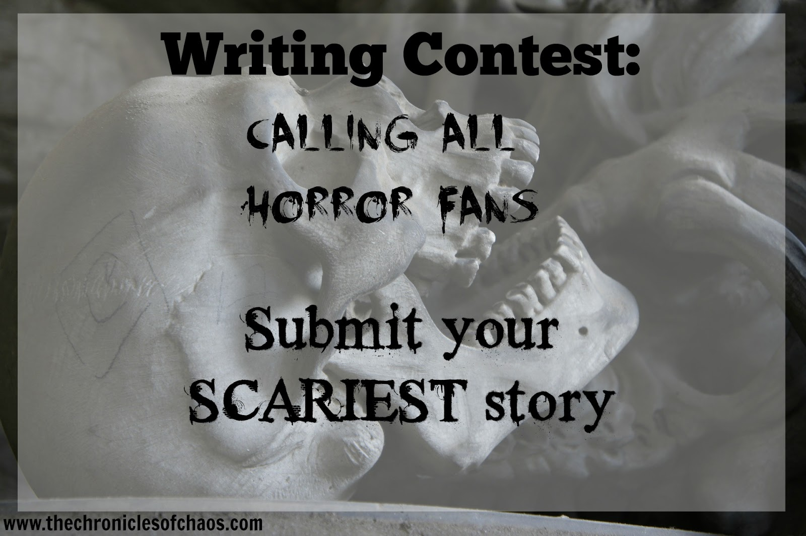 scary halloween writing tis the season a truck stop horror full  the chronicles of chaos writing contest calling all horror fans oh halloween humor gotta love it