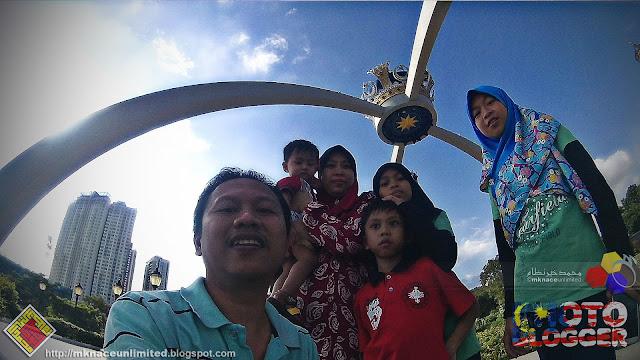 Gerbang Mahkota Istana Bukit Serene 20151118