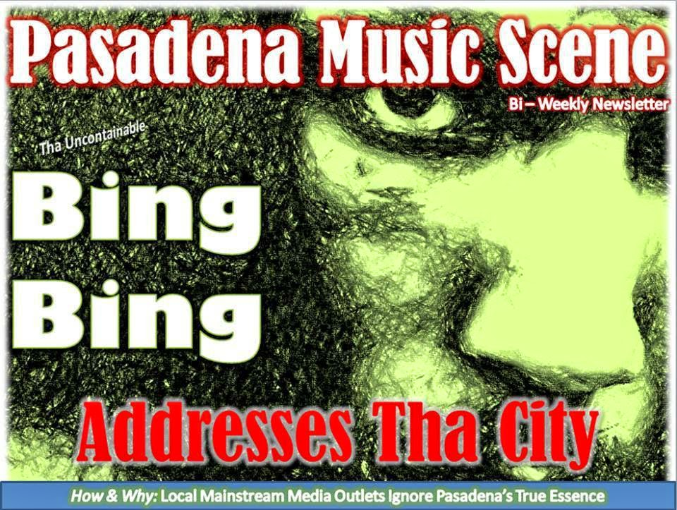 Pasadena Music Scene Bi-Weekly Newsletter