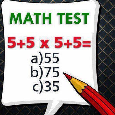 Test de habilidad matemática: | Sr. Caballo