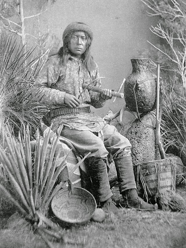 Apache native american indian instrument