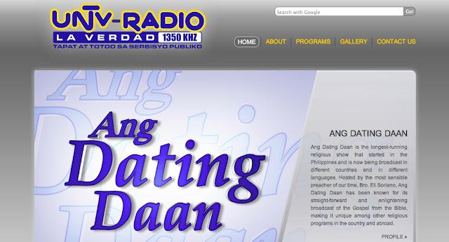 Ang Dating Daan Radio Post Schedule